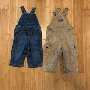 Bundle of 12-18 mo overalls.